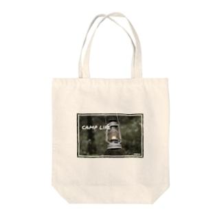 森とランタン Tote bags