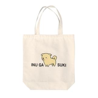 犬が好き Tote bags