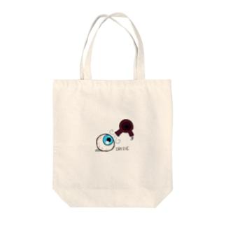 ドライアイ(物理) Tote bags