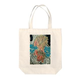 ザ唐獅子 Tote bags