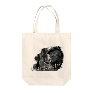フフホトのおっさん01 Tote bags