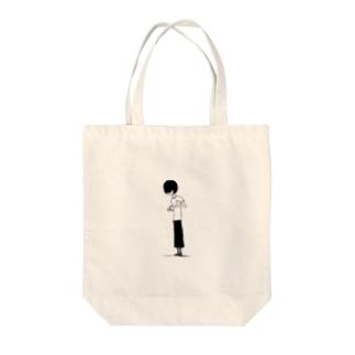 珈琲 Tote bags