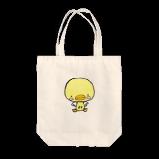 tsubasamoonの天使のひよこちゃん Tote bags