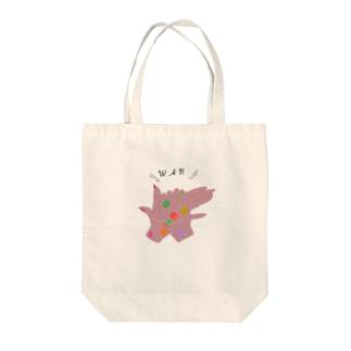 WAN Tote bags