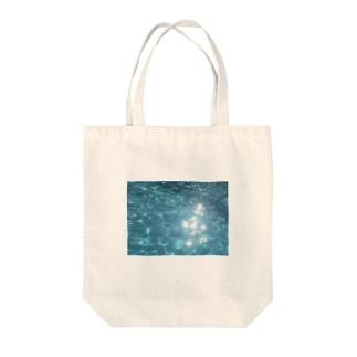 water Tote bags