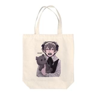 ばぶちゃん Tote bags