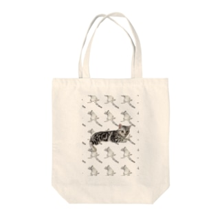 アメリカンショートヘア Tote bags