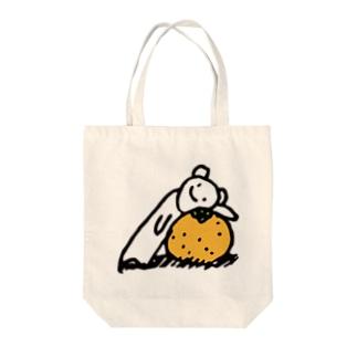 しろくまみかん(大) Tote bags