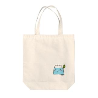 おフジちゃんトートバッグ Tote bags