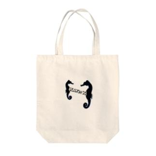 たつのおとしご Tote bags