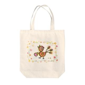 とっ鳥 Tote bags