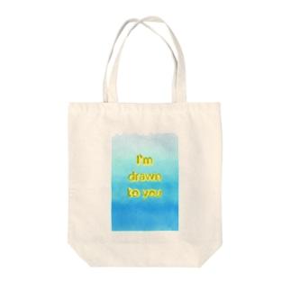 Drawn Tote bags