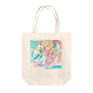 coaiの花のイロ Tote bags