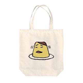 いやいやぷりん Tote bags