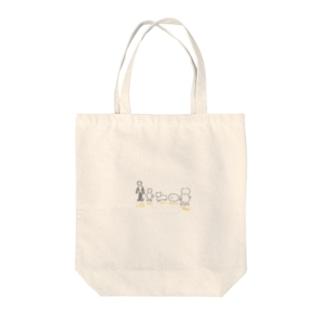 シルエットクイズ Tote bags