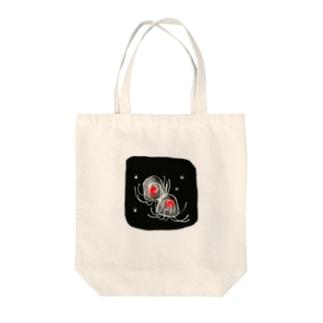 ベニクラゲ Tote bags