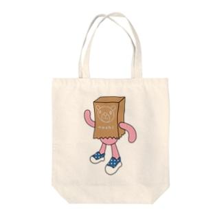 紙くま Tote bags