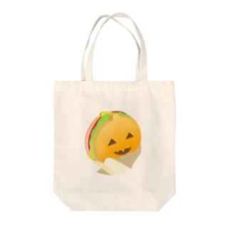 かぼちゃサンド Tote bags