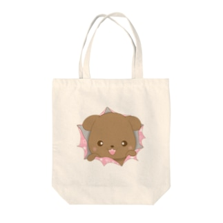 Fluffy Clubのおーちゃんびっくり作戦 Tote bags