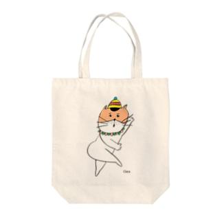 びっくりねこちゃん Tote bags