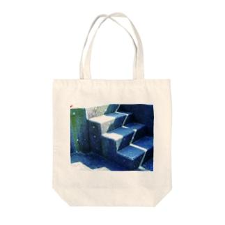 コンクリートII Tote bags