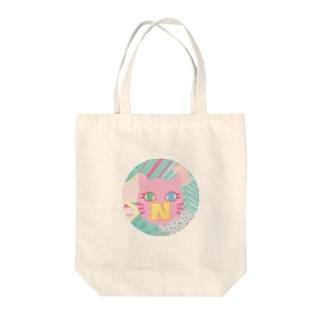 N猫♡ピンク トートバッグ