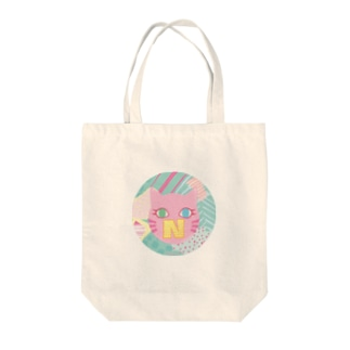 N猫♡ピンク Tote bags