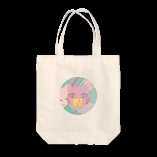 猫屋のN猫♡ピンク Tote bags