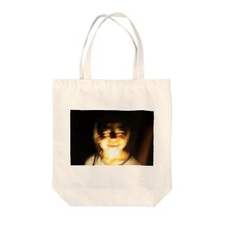 ほらー Tote bags