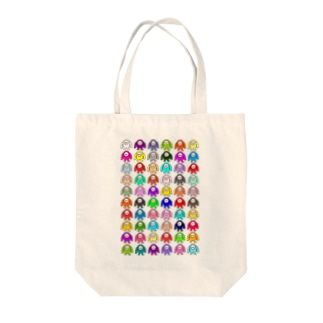 ゲームキャラクター60 Tote bags