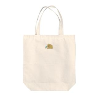 セキセイとゴールデン Tote bags