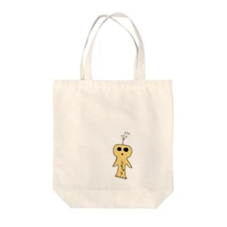 うちゅうくん Tote bags