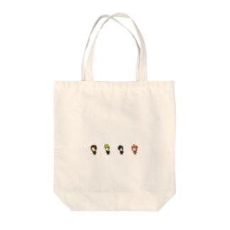 忍者00 Tote bags