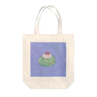 ロフォフォラという名のサボテン Tote bags