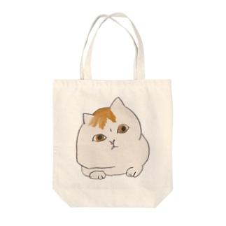 うかがいねこ Tote bags