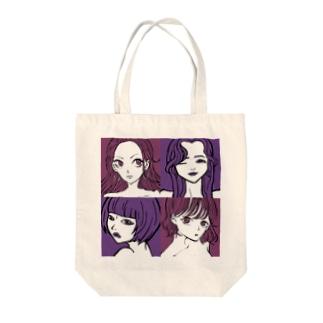 女たち Tote bags