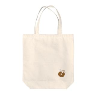 【色々にゃんことドーナツ】のトートバック Tote bags