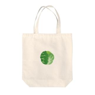 yorimichiのキャベツ Tote bags