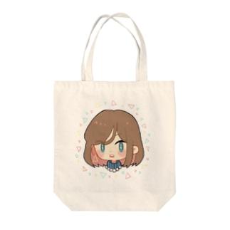 シロップ屋さんのつり目girl Tote bags