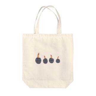 yorimichiのクワイ Tote bags