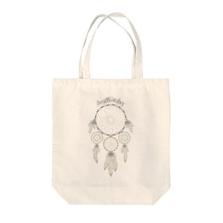 Dreamcatcher Tote bags