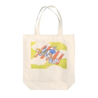 ひなたぼっこ Tote bags