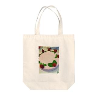 クリスマスケーキ Tote bags