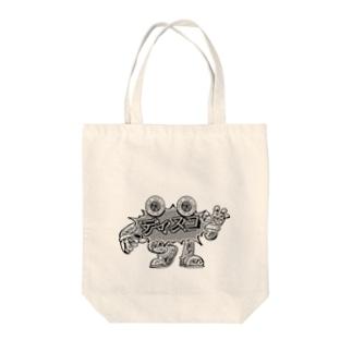 ディスコ元年ショップのdiscoboy_mono Tote bags