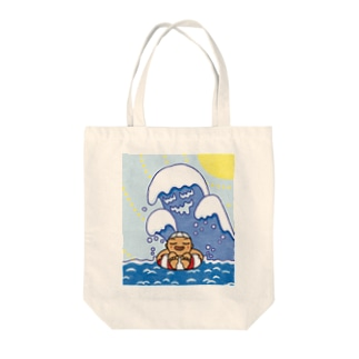 サマーバケーション Tote bags