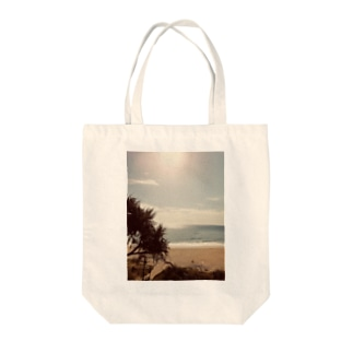 Sunshine beach Tote bags