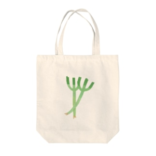 ねぎ Tote bags