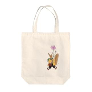 コスモスとクラリッサ Tote bags