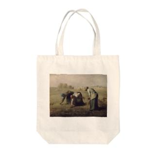 ミレー 落穂拾い Tote bags