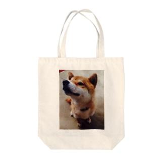 桜瀬 ゆきなの愛犬グッズ Tote bags